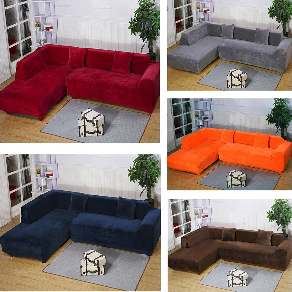 Furniture: Contemporary Sofa Design With Sure Fit Couch Covers Within Chaise Sofa Covers (View 14 of 20)