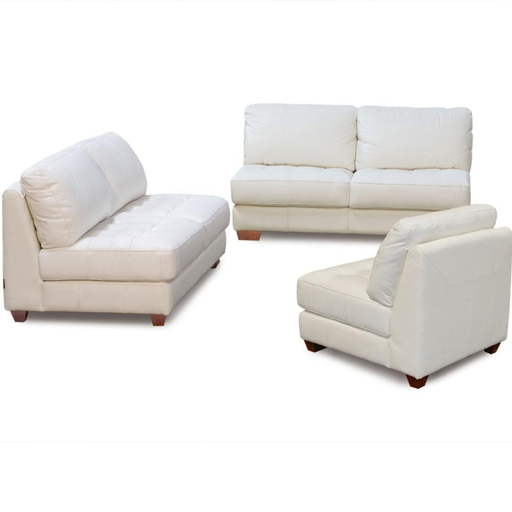 Furniture: Cool Armless Loveseat Design Ideas With Diamond Sofa For Armless Sectional Sofas (View 10 of 15)