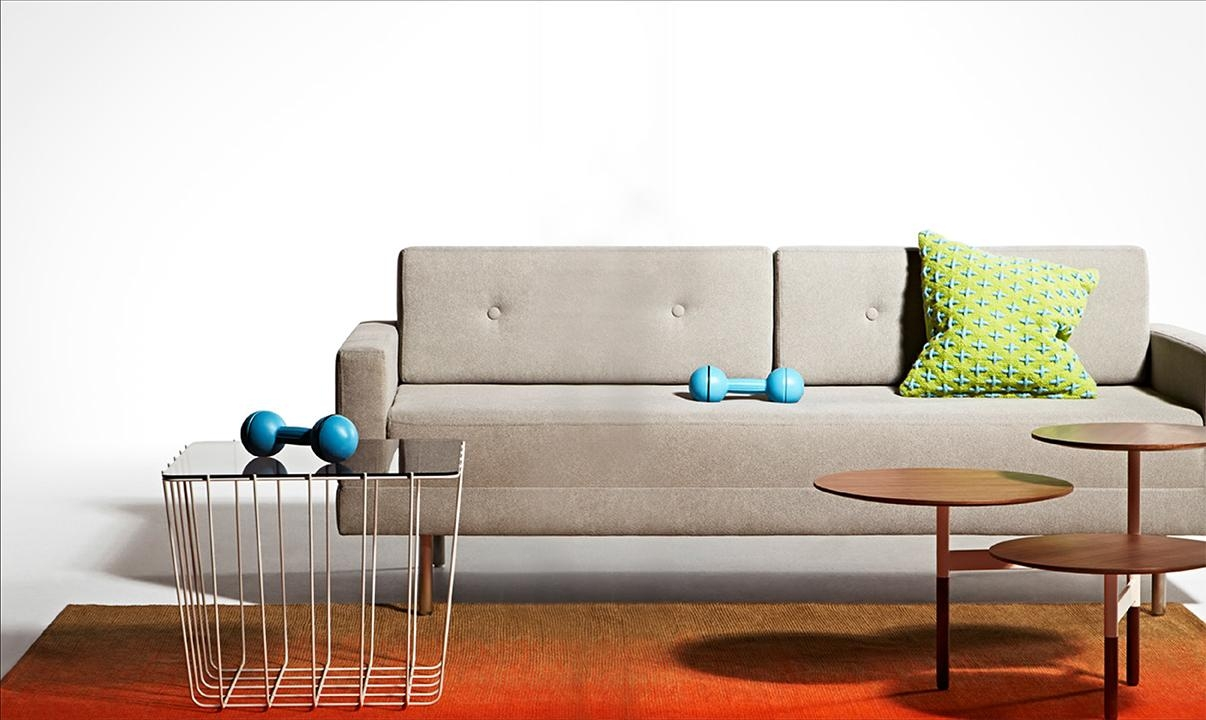 Furniture: Cool Picture Of Folding Dark Brown Fabric Blue Dot One Intended For Blu Dot Sleeper Sofas (View 19 of 20)