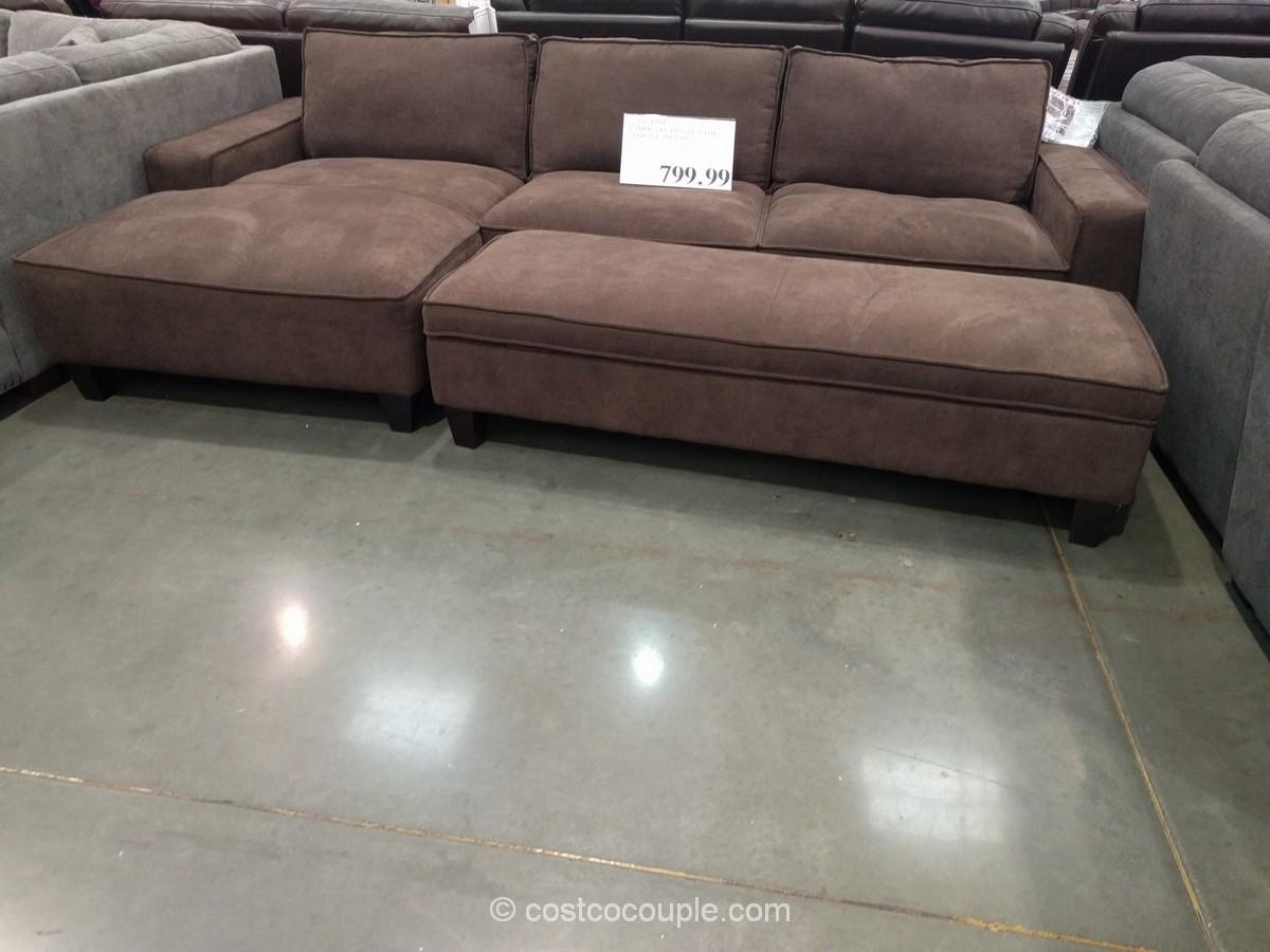 Furniture: Costco Couch | Costco Leather Sofa | Sectional Sofas Regarding Costco Leather Sectional Sofas (Image 6 of 20)