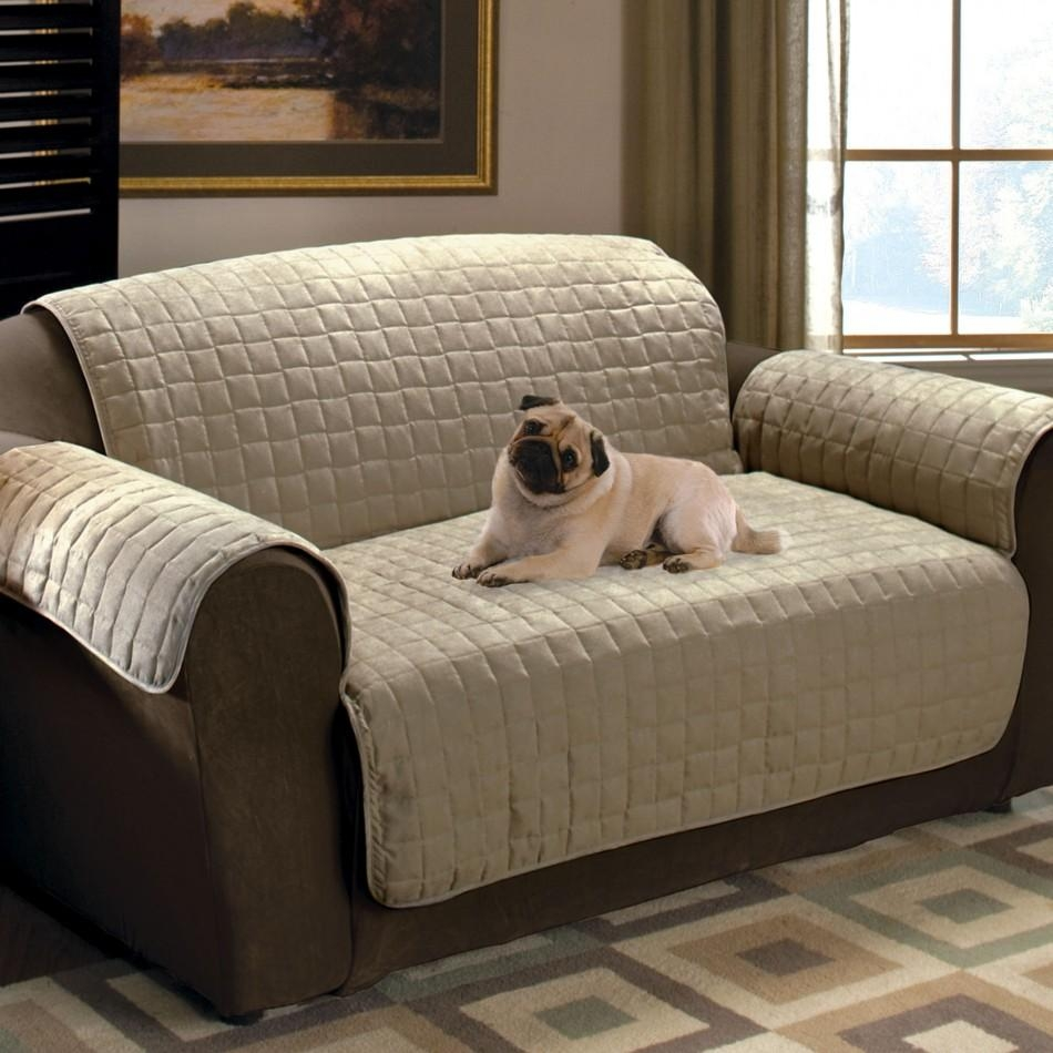 Furniture: Couch Covers At Walmart To Make Your Furniture Stylish With Regard To Slipcover For Leather Sofas (View 7 of 20)