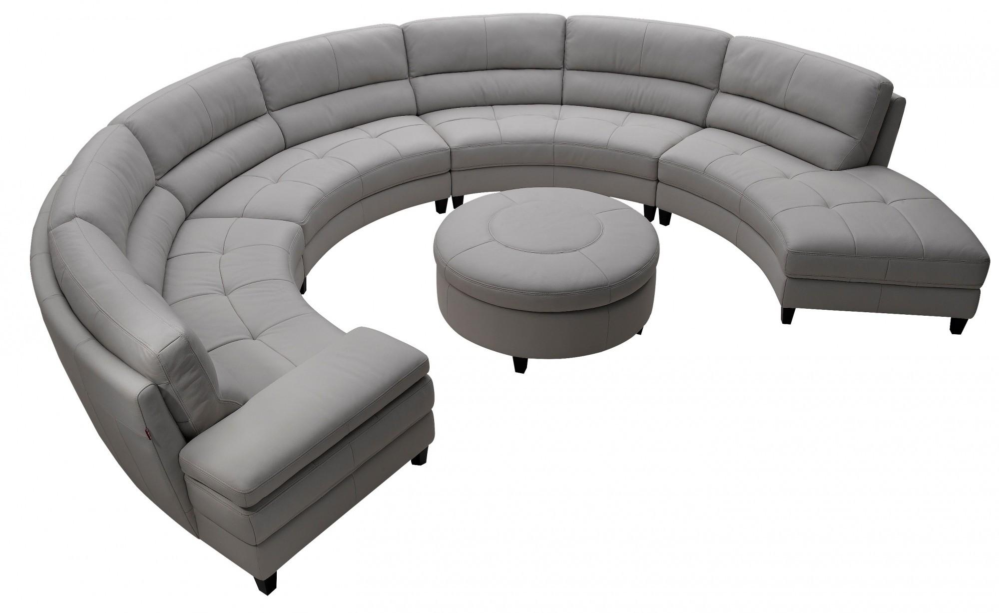 Furniture: Couch Sectional | Sofa With Chaise Lounge | Round Couches With Regard To Round Sofas (View 19 of 20)