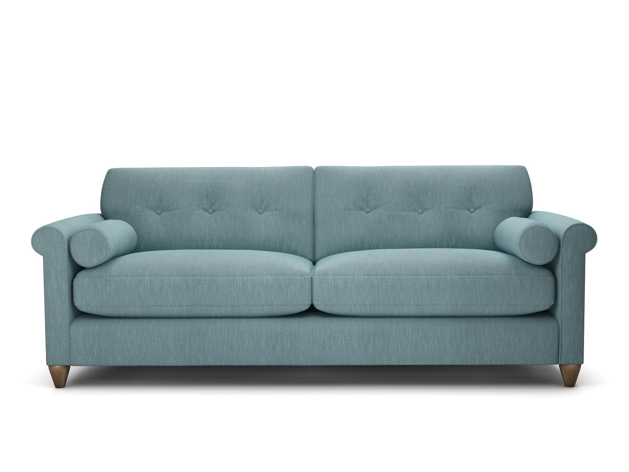 Furniture: Cozy Ava Velvet Tufted Sleeper Sofa For Home Furniture Regarding Ava Tufted Sleeper Sofas (Image 7 of 20)