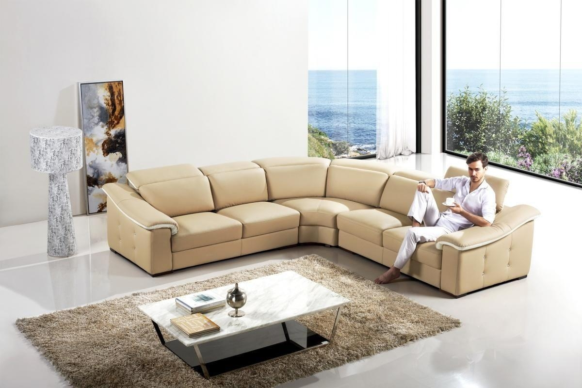 Furniture: Cream Leather Sofa | Red Leather Couches | Beige Couch For Beige Leather Couches (Image 8 of 20)