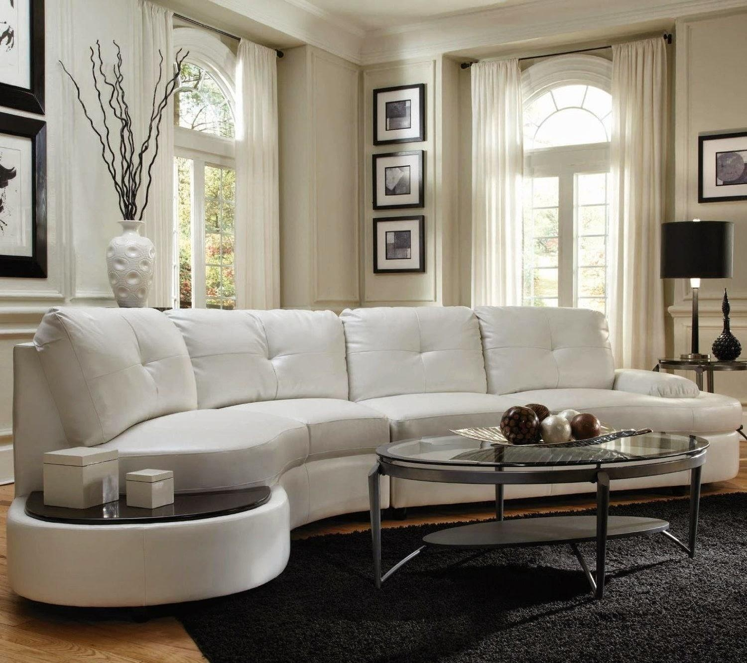 Furniture: Create Your Comfortable Living Room Decor With Round Intended For Denver Sectional (Image 6 of 15)