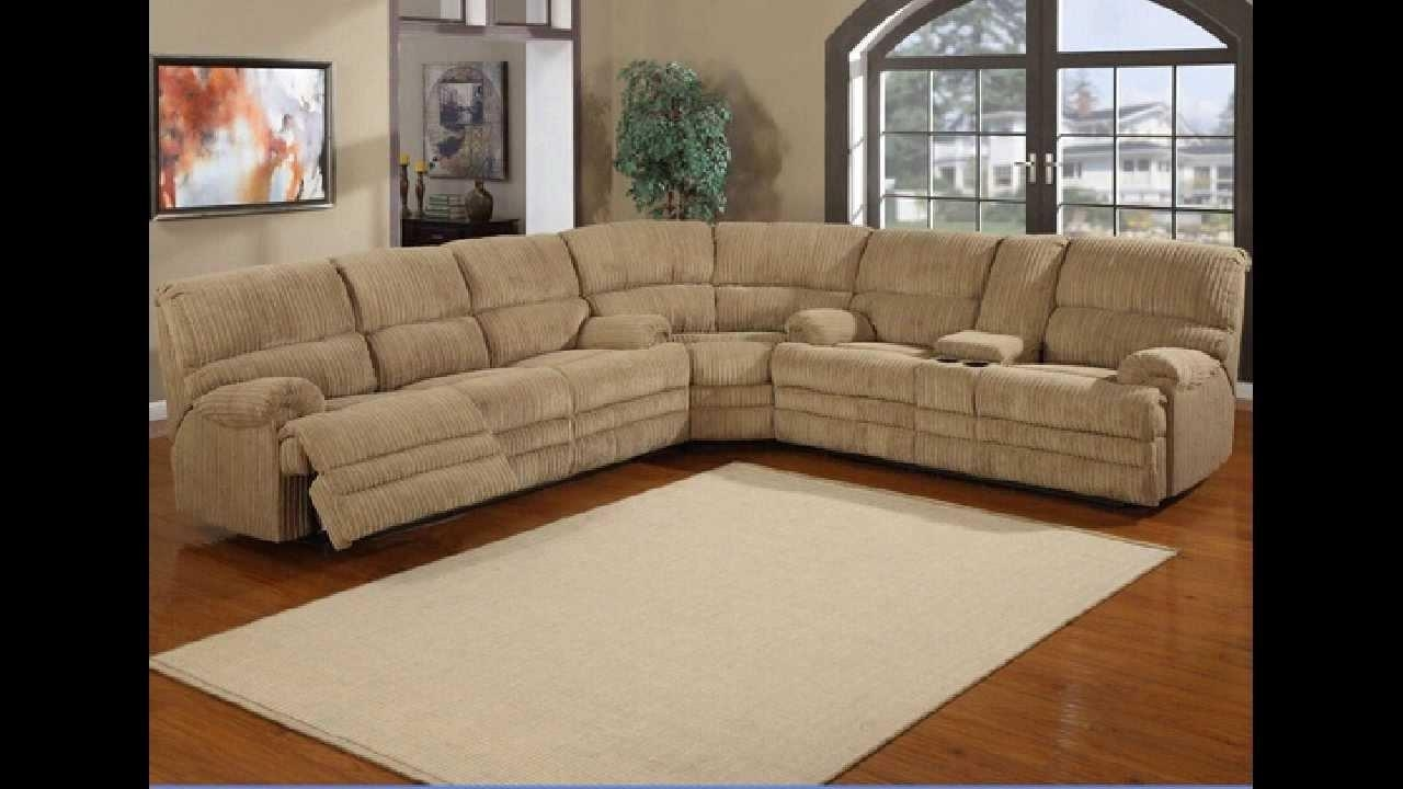 Furniture: Create Your Living Room With Cool Sectional Recliner For Jedd Fabric Reclining Sectional Sofa (View 10 of 20)