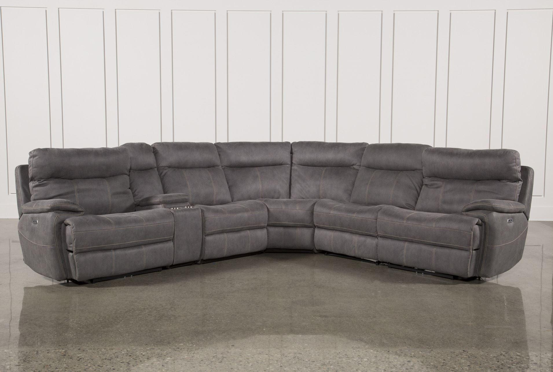 Furniture: Create Your Living Room With Cool Sectional Recliner For Sleeper Recliner Sectional (Image 4 of 20)