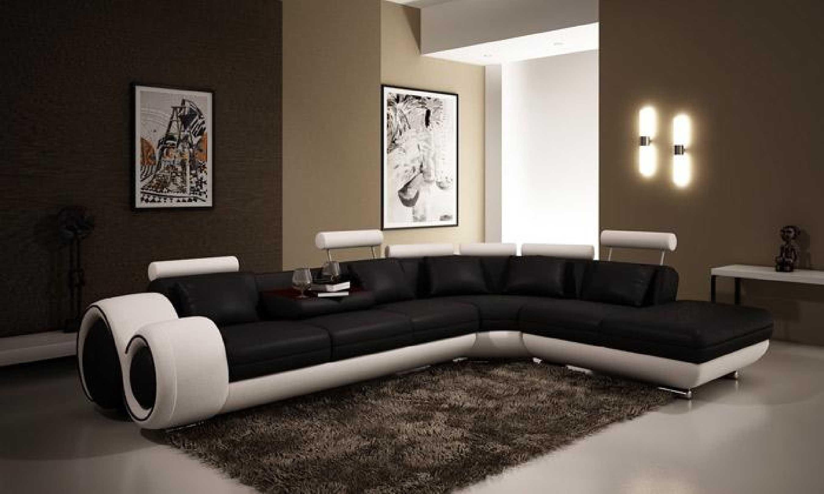 Furniture: Create Your Living Room With Cool Sectional Recliner Inside Large Leather Sectional (Image 4 of 20)