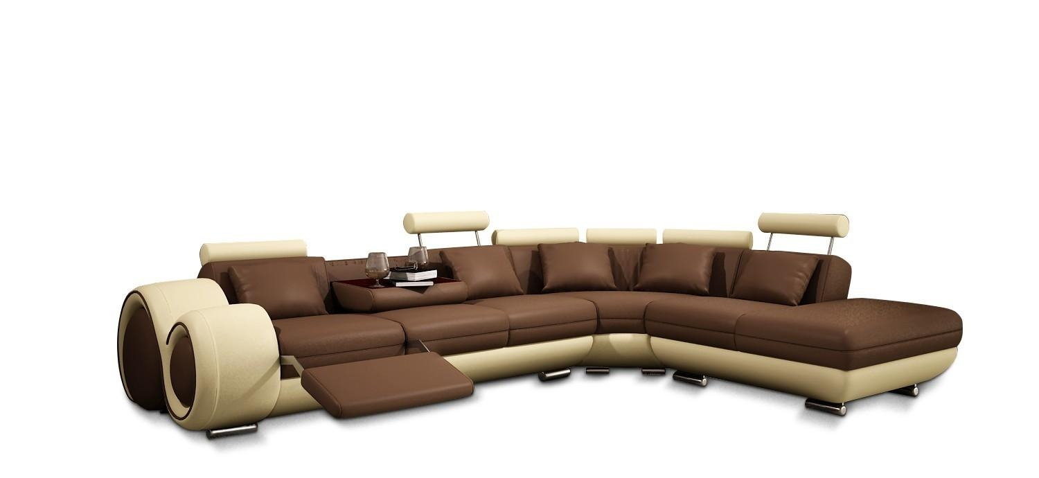 Furniture: Create Your Living Room With Cool Sectional Recliner Intended For Recliner Sofa Chairs (Image 11 of 20)