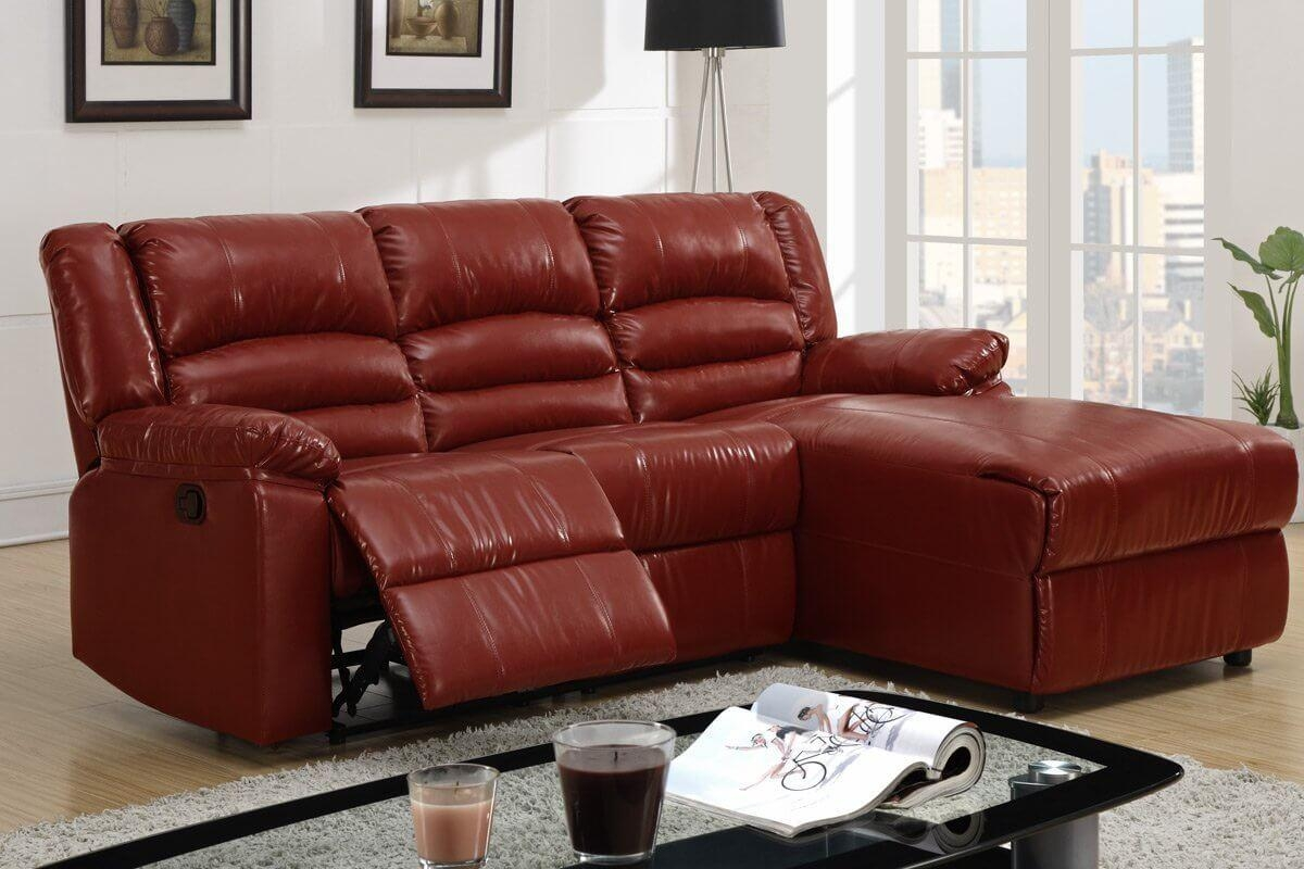 Furniture: Create Your Living Room With Cool Sectional Recliner Regarding Burgundy Sectional Sofas (Image 10 of 20)
