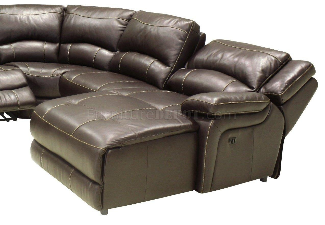 Furniture: Create Your Living Room With Cool Sectional Recliner Regarding Modern Reclining Sectional (Image 7 of 20)