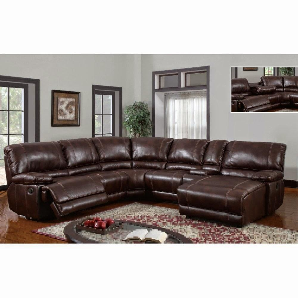 Furniture: Create Your Living Room With Cool Sectional Recliner Within Jedd Fabric Reclining Sectional Sofa (Image 6 of 20)