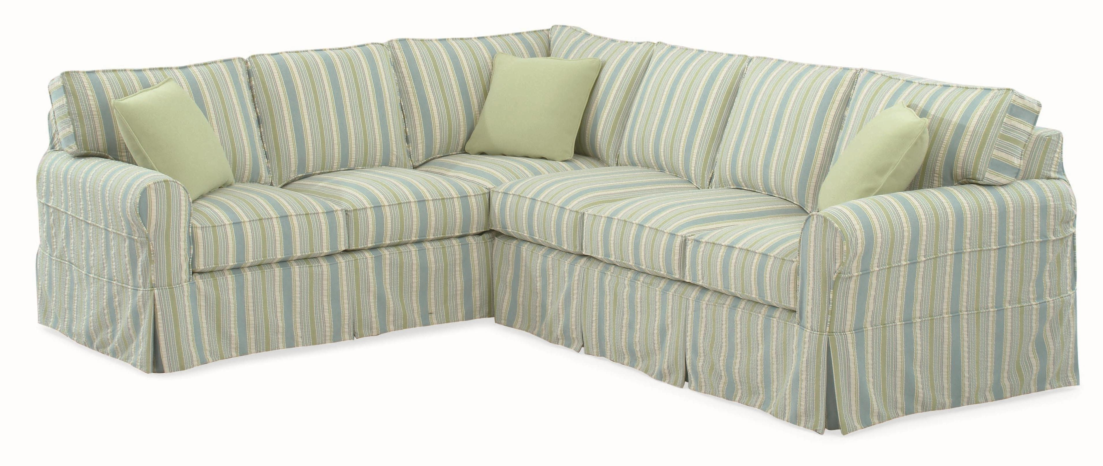 Furniture: Creates Clean Foundation That Complements Decorating With Regard To Slipcover Style Sofas (View 16 of 20)