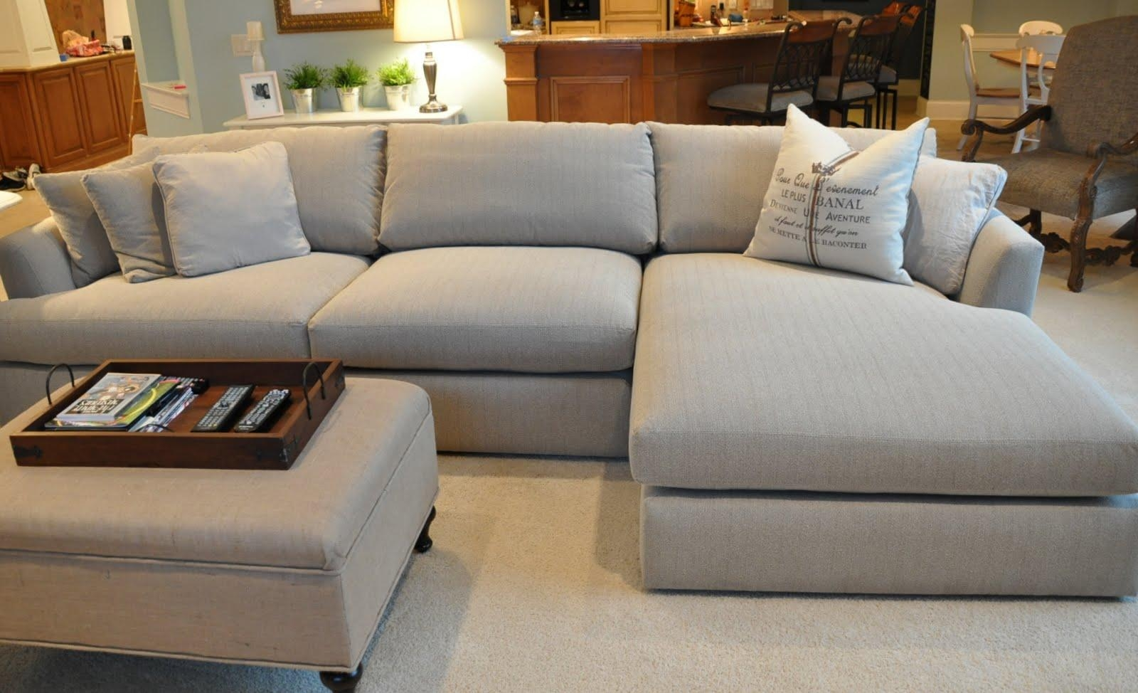 Furniture: Deep Seat Sectional | Sectionals Sofas | Sectional Within Deep Sectionals (Image 8 of 15)
