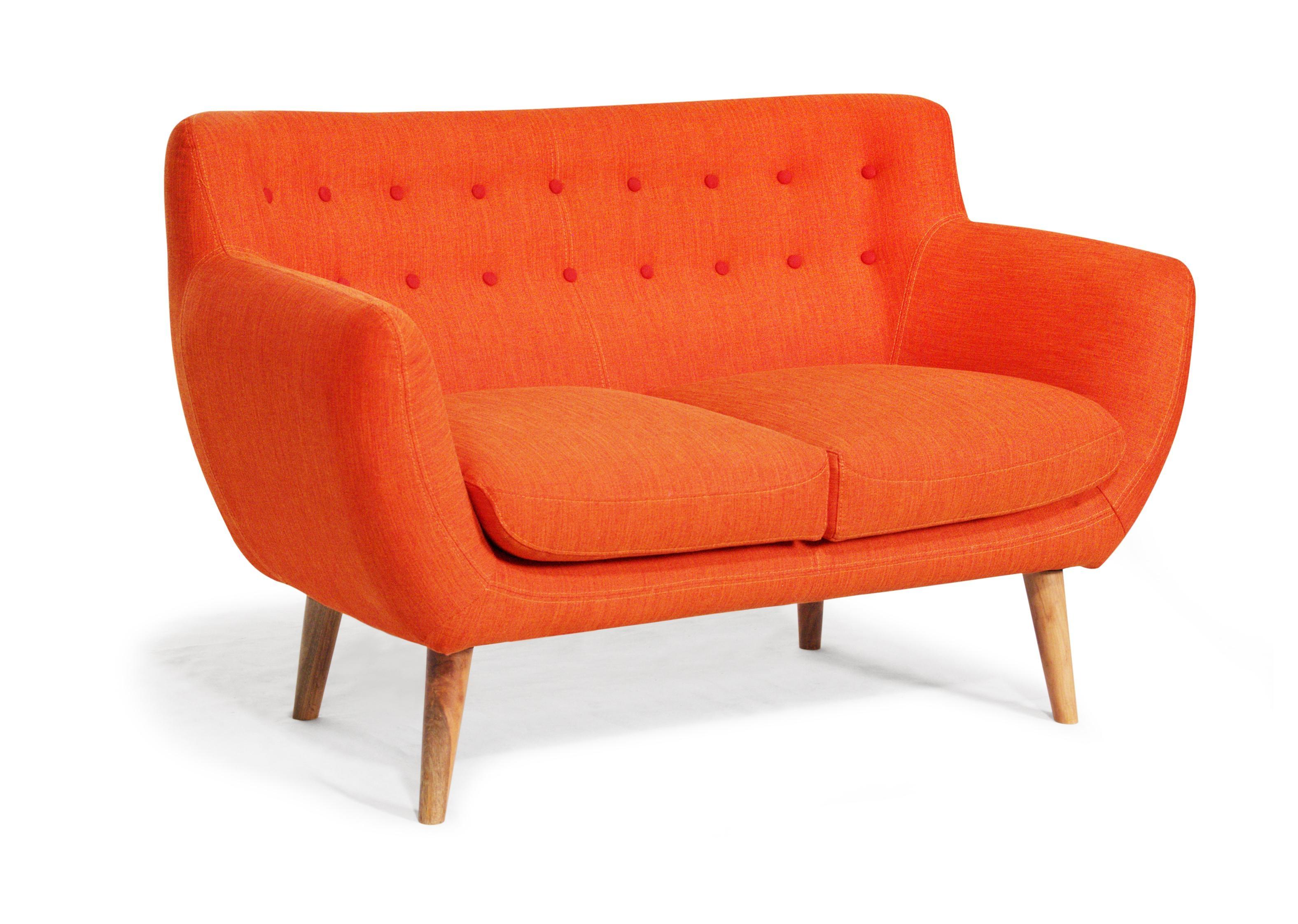 Furniture Designing Home View Rukle Dashing Orange Sofa For ~ Idolza Within Orange Sofa Chairs (View 11 of 20)