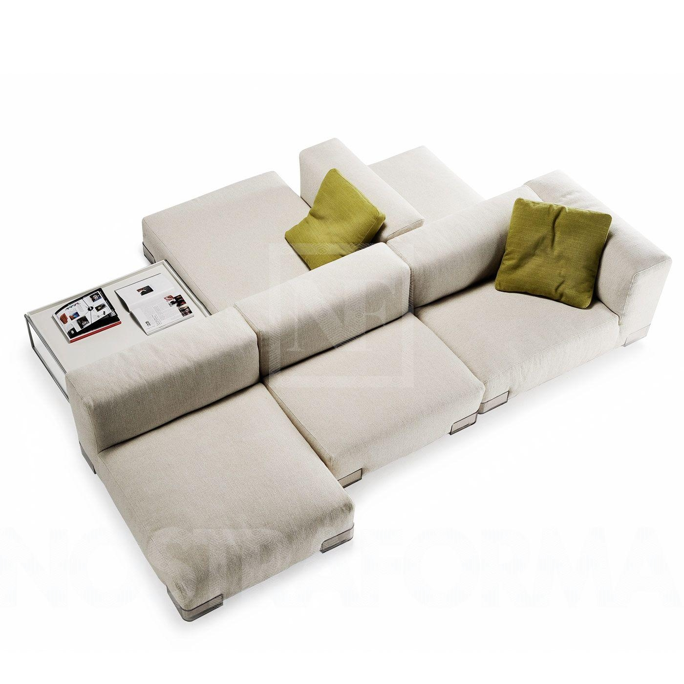 Furniture: Double Sided Sofa | Build A Sectional Sofa | Latest Couches Intended For Sleek Sectional Sofa (View 18 of 20)