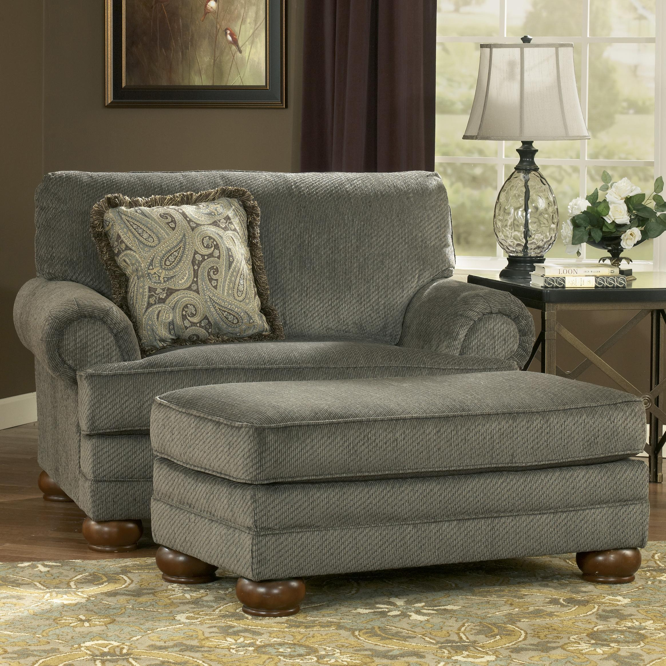 Furniture: Elegant Decorative Cheap Ottoman With Ikea Accent Chair Within Sofa Chair And Ottoman (Image 10 of 20)