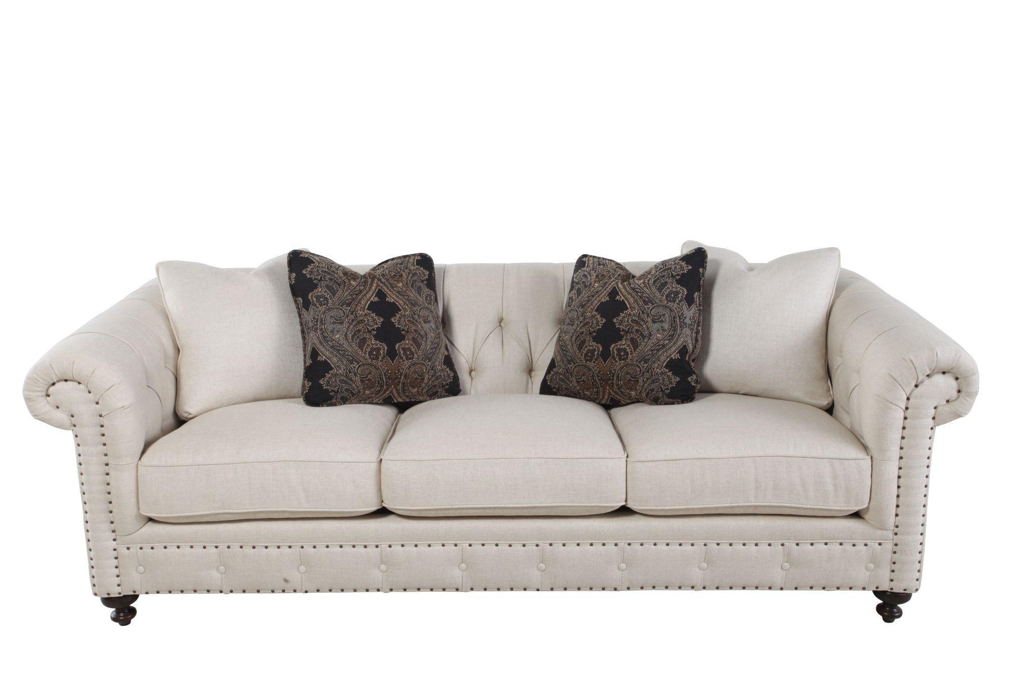 Furniture: Elegant Livin Room Furniture Design With Cozy Bernhardt intended for Bernhardt Tarleton Sofas