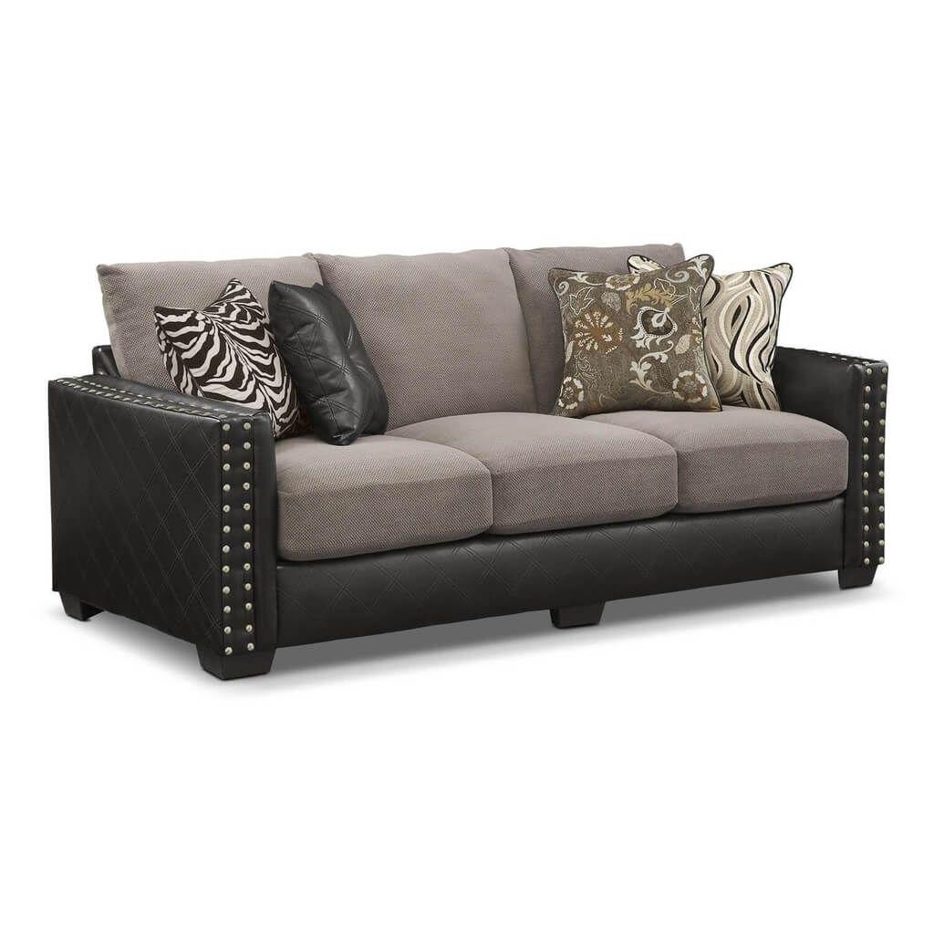 Furniture: Elegant Queen Sleeper Sofa With Gray Cushion – What Inside Sofa Sleepers Queen Size (Image 8 of 20)