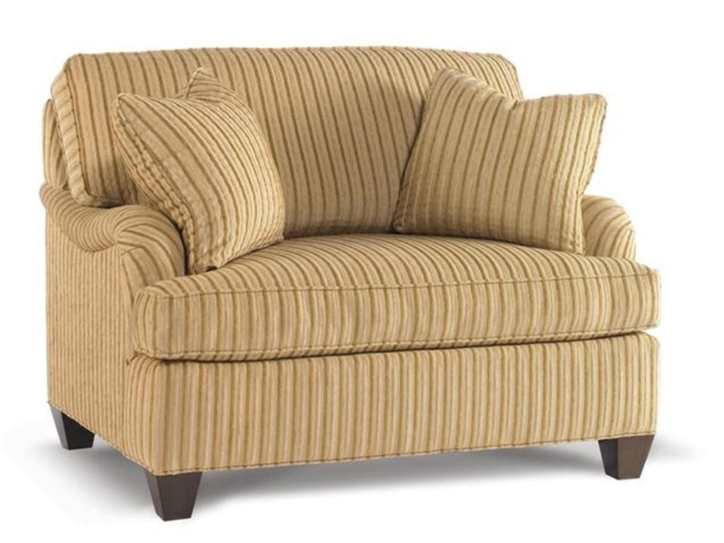 Furniture: Enchanting Chair And A Half Slipcover For Home Throughout Striped Sofas And Chairs (View 17 of 20)