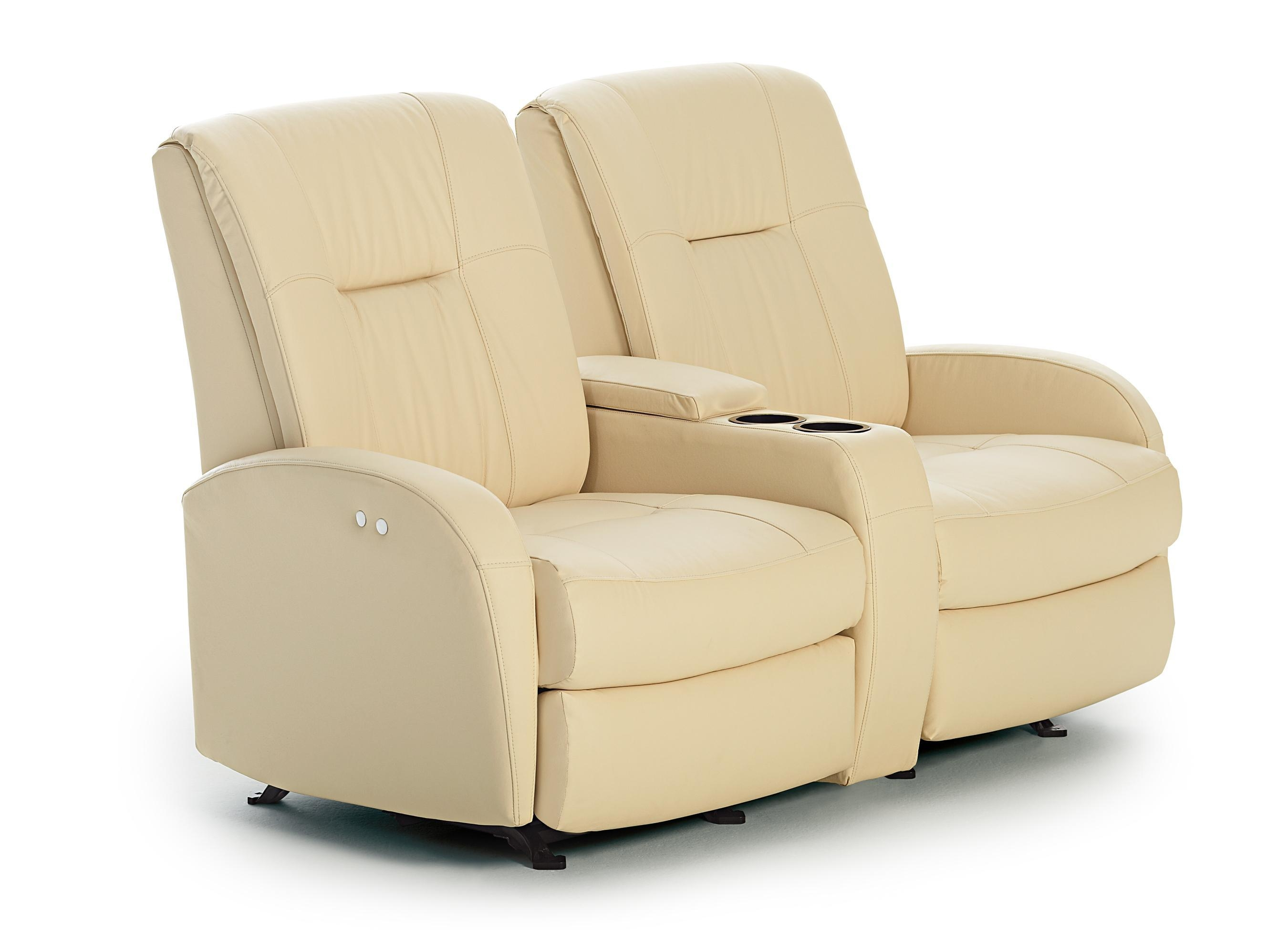 Furniture: Enjoy Your Time With Cozy Rocking Recliner Loveseat Intended For Rv Recliner Sofas (Image 4 of 20)