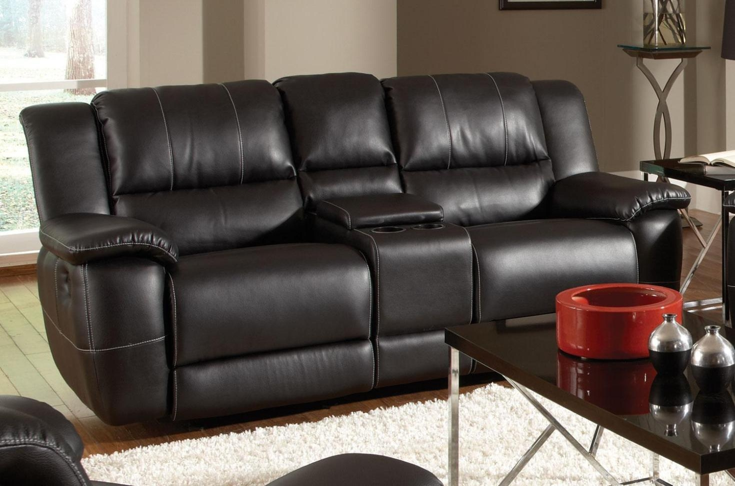 Furniture: Enjoy Your Time With Cozy Rocking Recliner Loveseat Within Rv Recliner Sofas (Image 5 of 20)