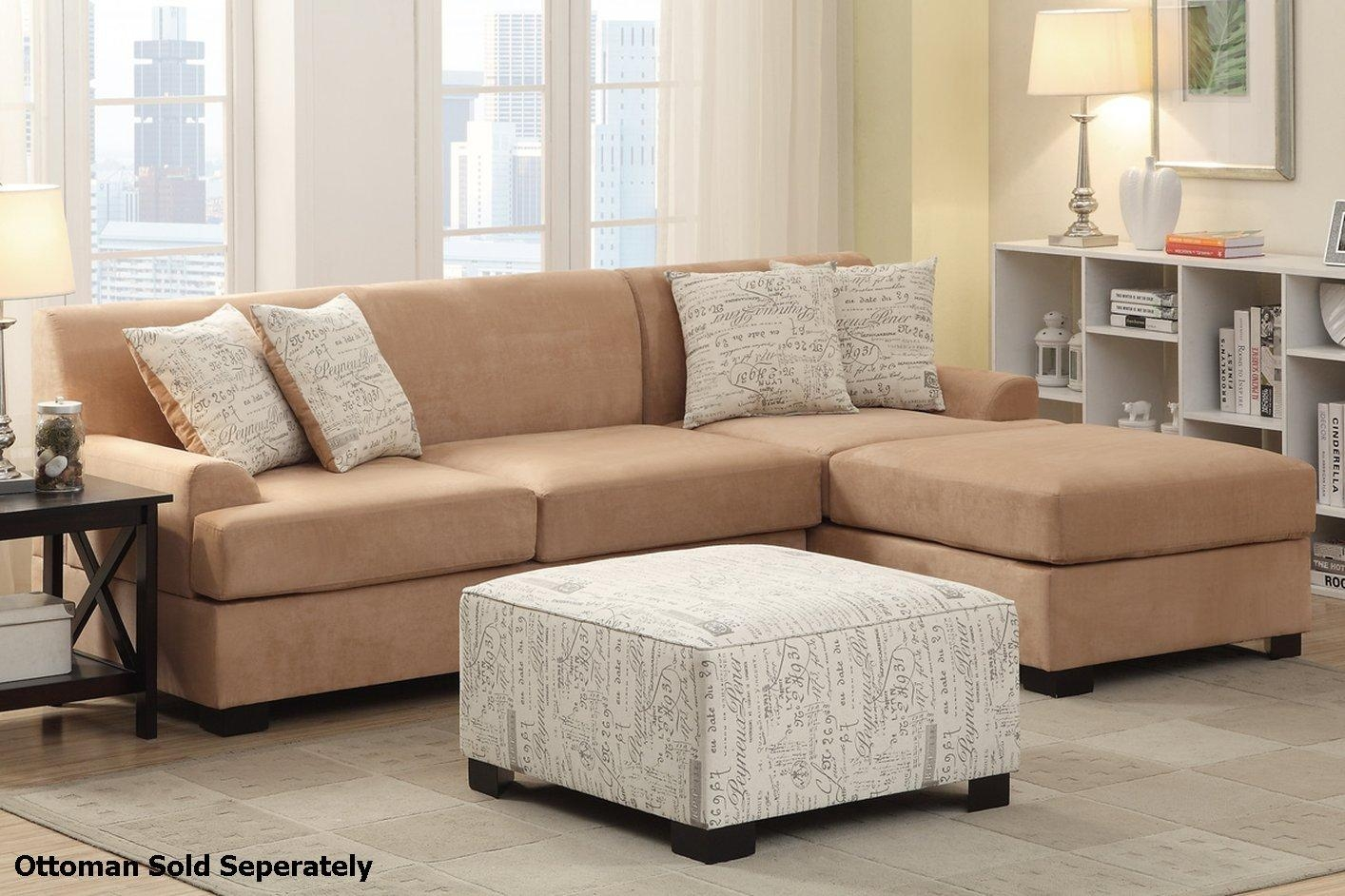 Furniture: Excellent Beige Sectional Sofa For Your Living Room In Mini Sectionals (Image 7 of 20)