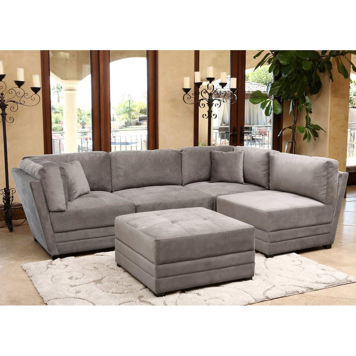 Furniture: Exciting Sectional Sofas Costco For Your Family Room Intended For Deep Sectionals (Image 9 of 15)