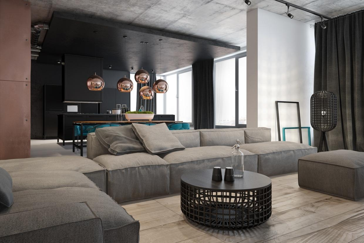 Furniture: Extra Large Sectional Sofa | Huge Leather Sectional With Regard To Giant Sofas (Image 10 of 20)