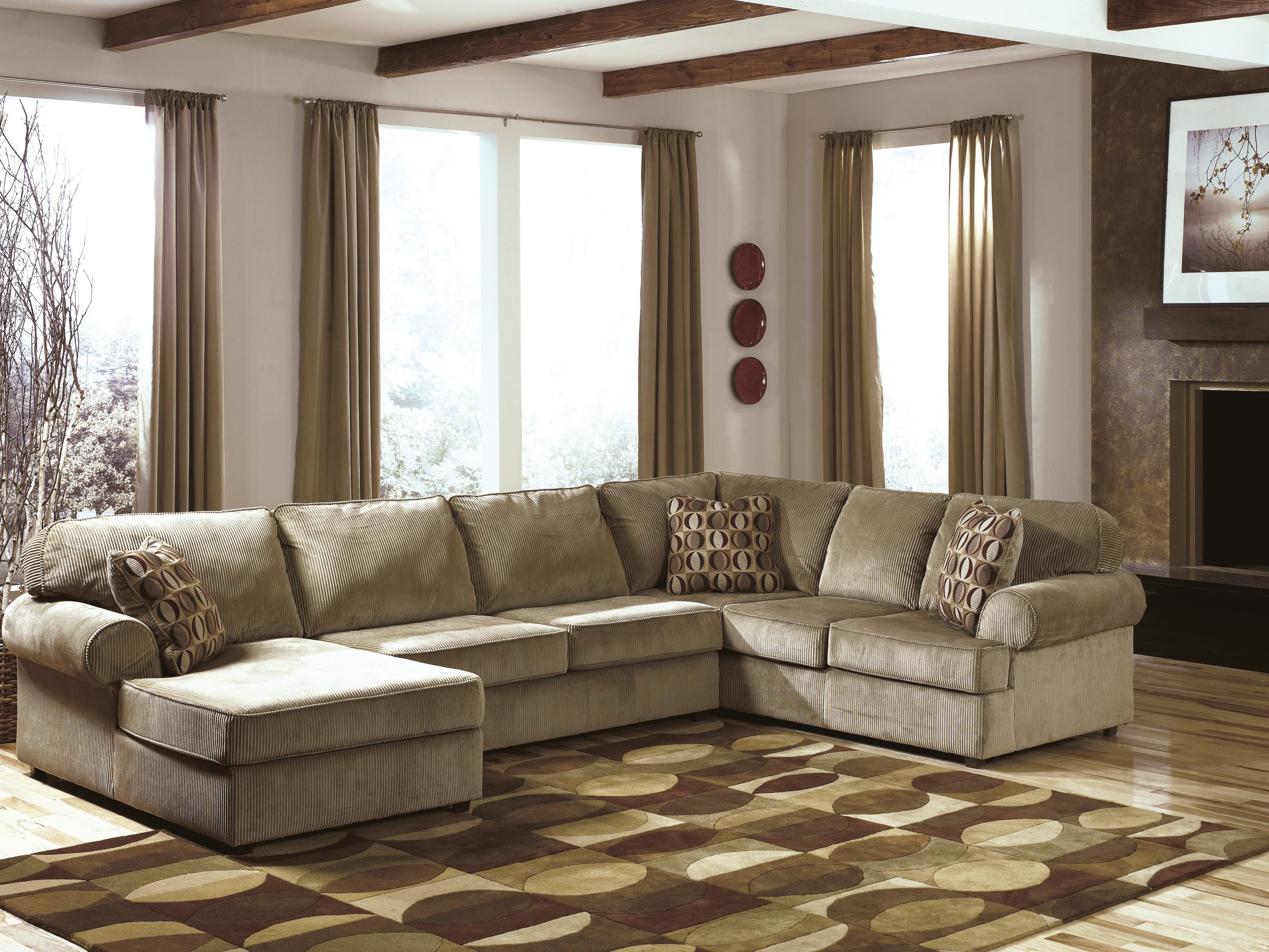 Furniture: Fantastic Sectional Couches With Recliners For Your For Ashley Sectional Sleeper (Image 5 of 15)