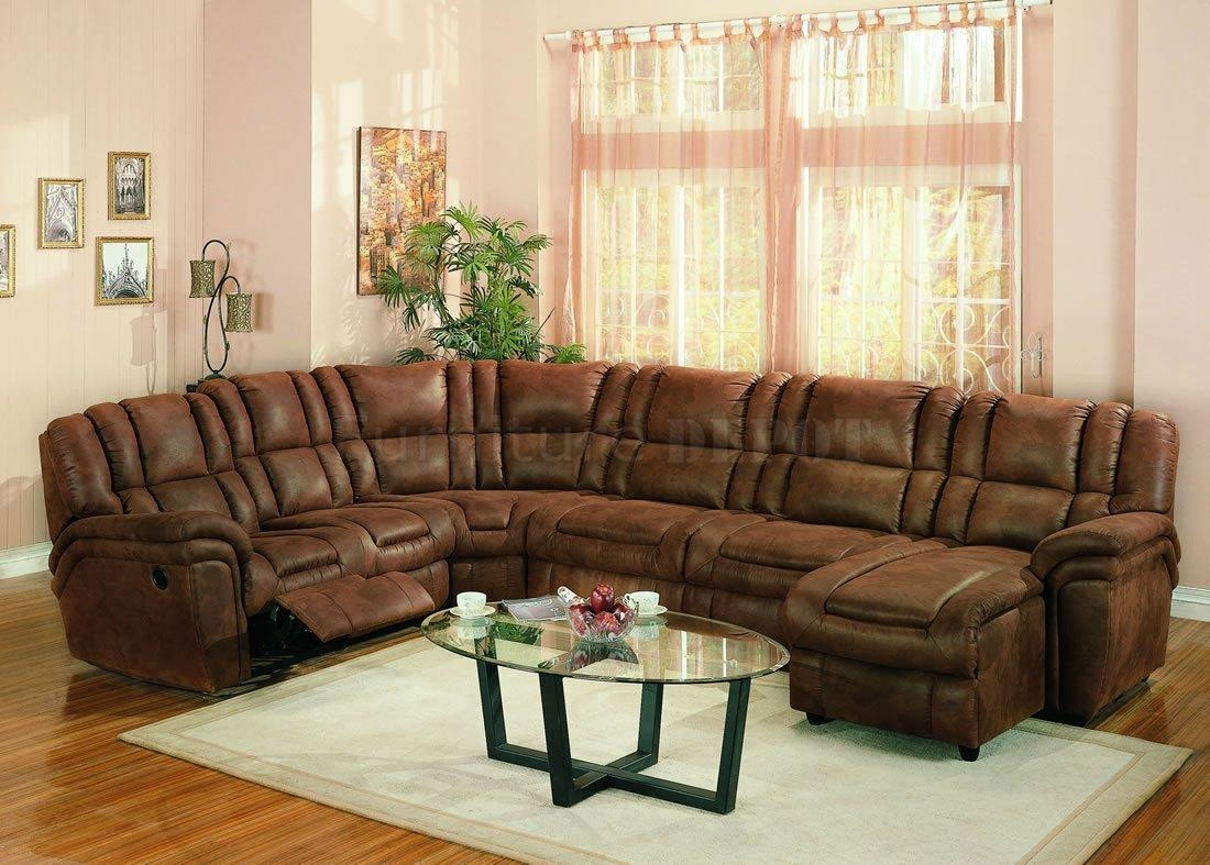 Furniture: Fantastic Sectional Couches With Recliners For Your Inside Small Microfiber Sectional (Image 6 of 20)