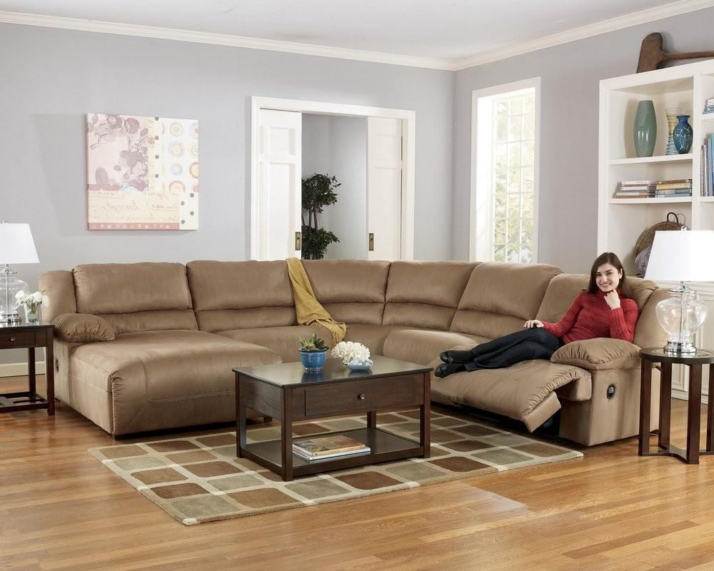 Furniture: Fantastic Sectional Couches With Recliners For Your Intended For Havertys Leather Sectional (Image 5 of 15)