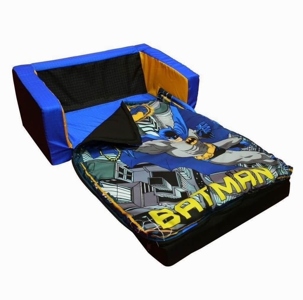 Furniture: Fantastic Zebra Flip Out Kids Sofa Bed And Best Kids Pertaining To Flip Out Sofa For Kids (Image 7 of 20)