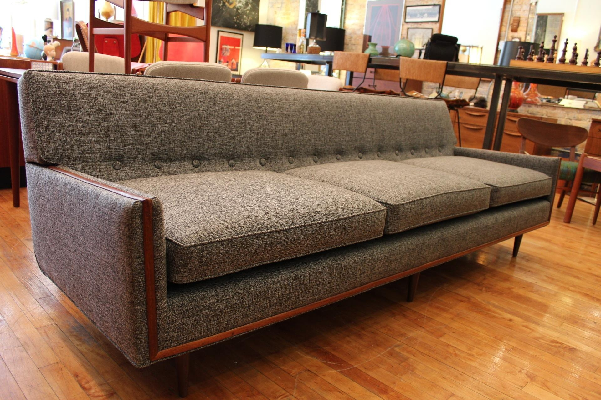 Furniture: Fascinating Mid Century Sofas For Comfy Home Furniture Regarding Mid Century Modern Leather Sectional (View 14 of 20)