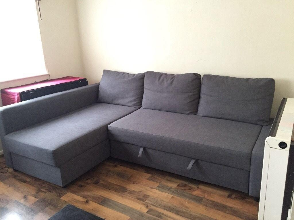 Furniture: Friheten Sofa Bed | Couch With Hideaway Bed | Twin Sofa Within Corner Sofa Bed Sale (Image 10 of 20)