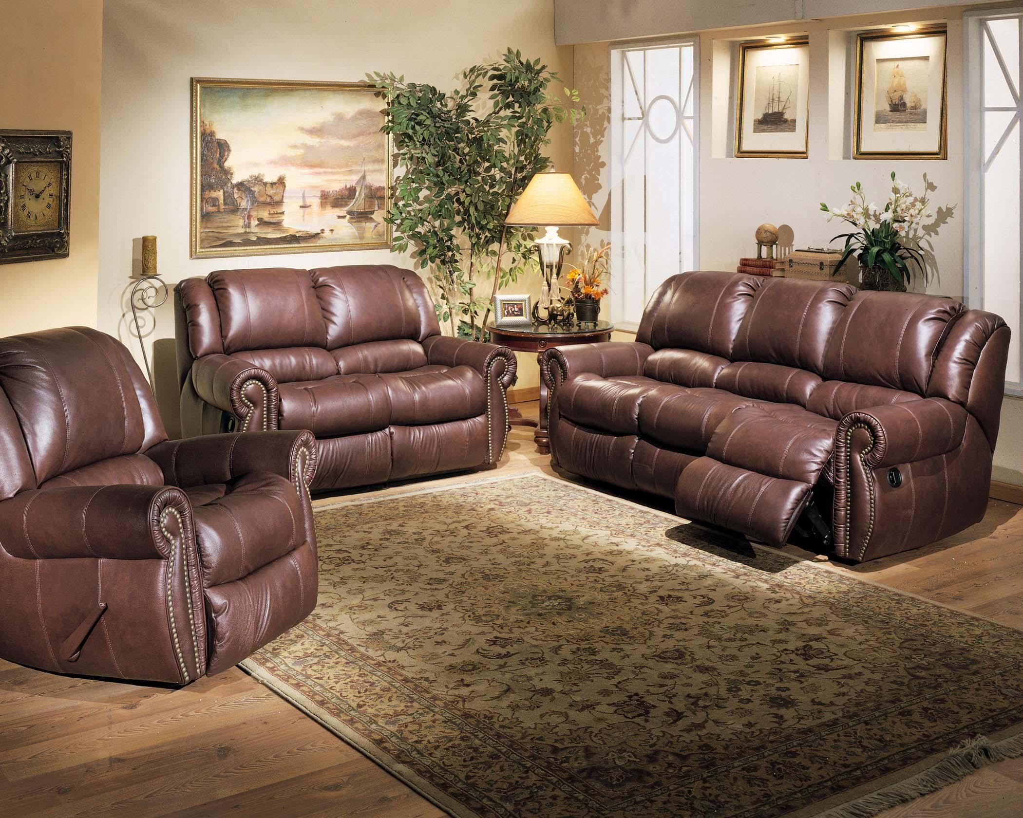 Furniture: Full Grain Leather Sectional | Costco Leather Sofa Within Full Grain Leather Sofas (View 19 of 20)