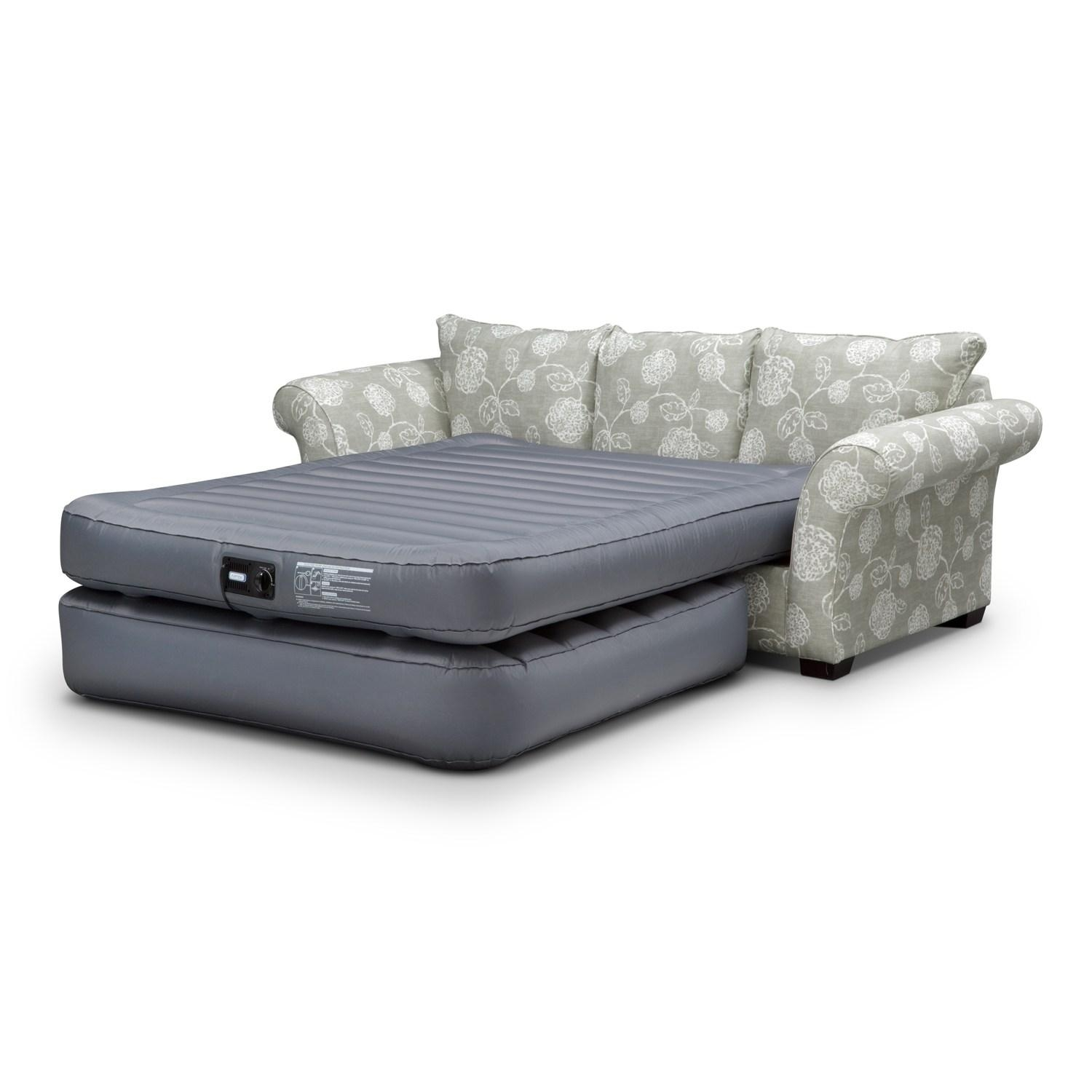 Furniture: Futon Couches At Walmart | Ava Velvet Tufted Sleeper Regarding Ava Velvet Tufted Sleeper Sofas (Image 6 of 20)