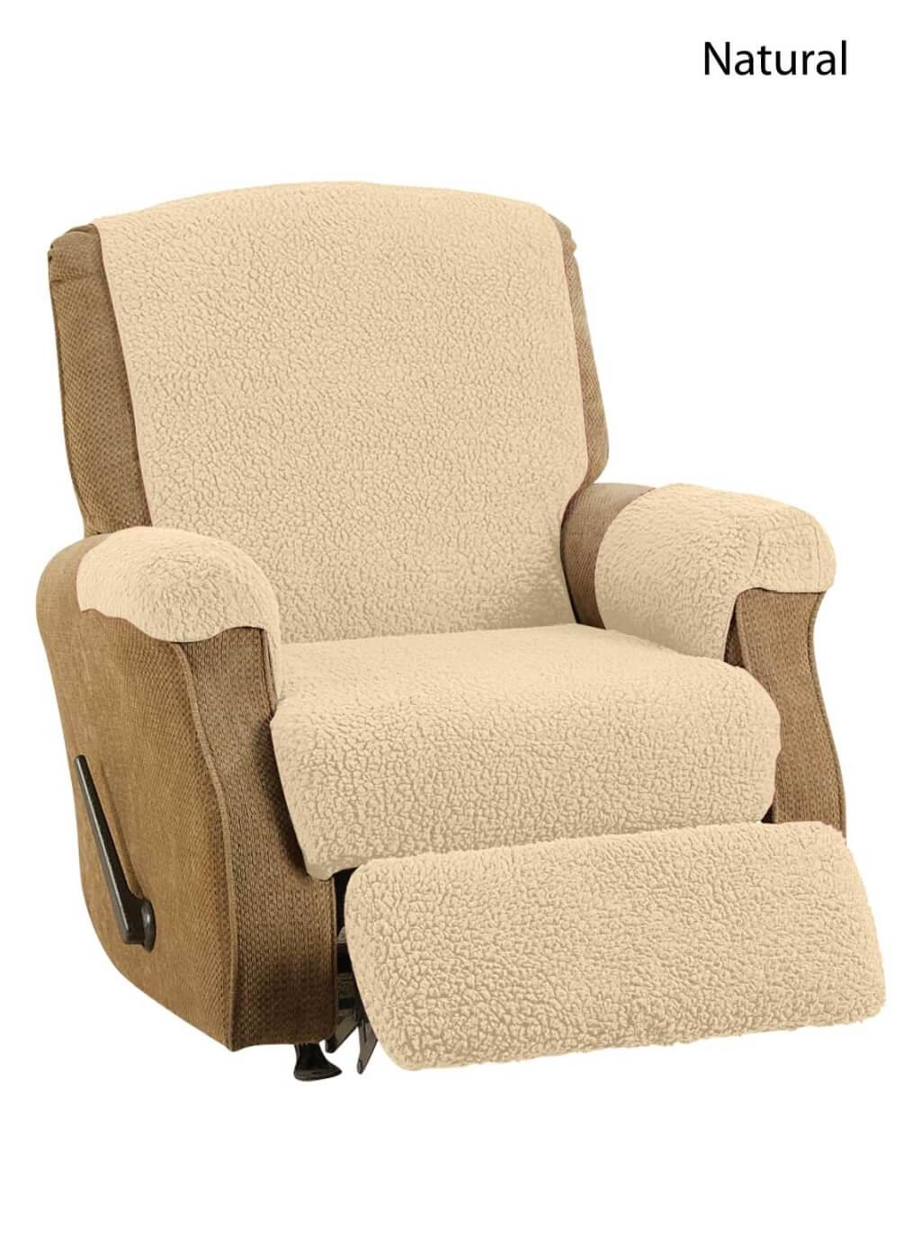 Furniture: Give Your Furniture Makeover With Sofa Recliner Covers In Sofa Armchair Covers (View 6 of 20)
