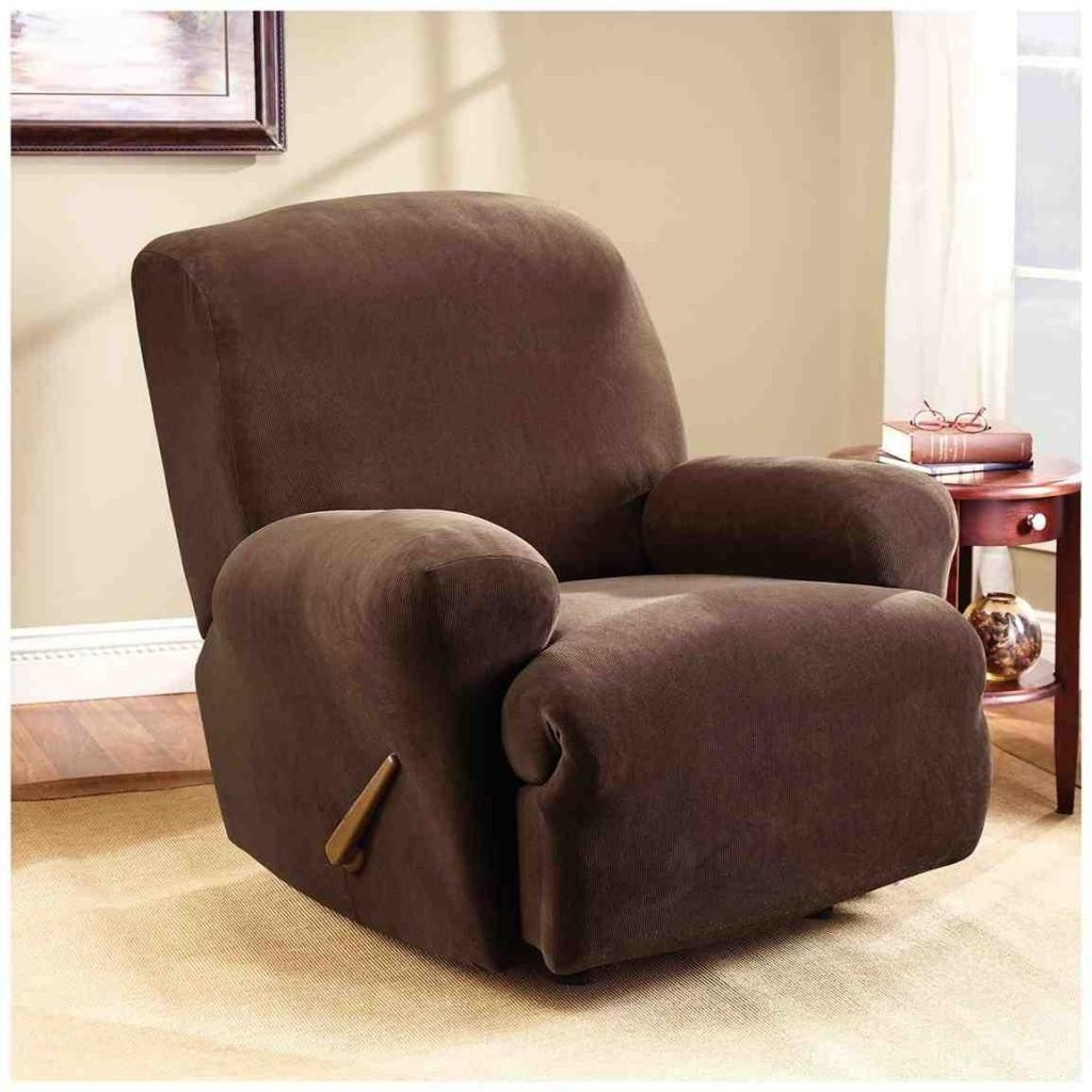 Furniture: Give Your Furniture Makeover With Sofa Recliner Covers With Recliner Sofa Slipcovers (View 8 of 20)