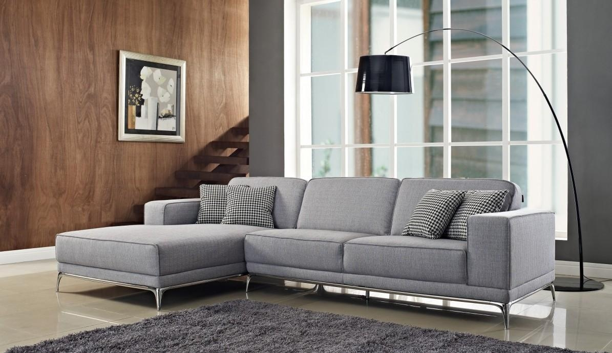 Furniture: Glass Coffee Table With Contemporary Sectional Sofas Pertaining To Floor Lamp For Sectional Couch (Image 8 of 15)