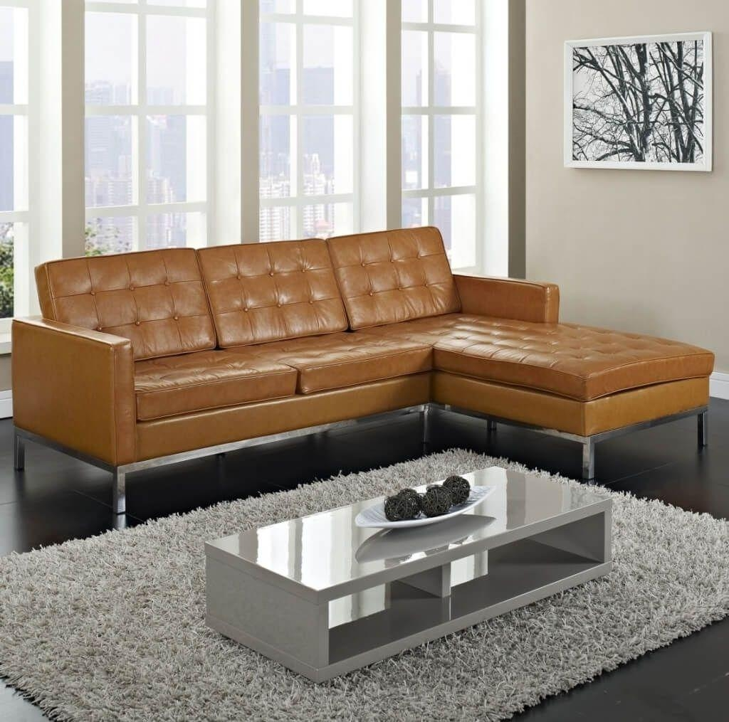Furniture: Good Dark Brown Leather Cheap Sectional Couch Ideas With Inexpensive Sectional Sofas For Small Spaces (Image 9 of 20)
