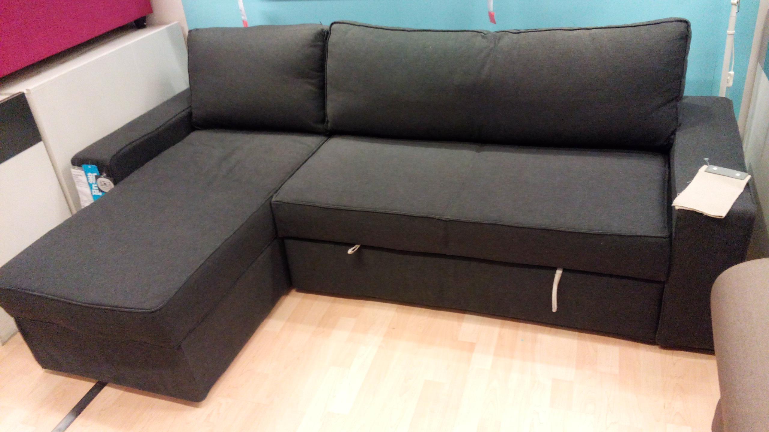 Furniture: Grey Sectional Ikea | Friheten Sofa Bed Review | Ikea Regarding Ikea Sectional Sofa Bed (View 5 of 20)