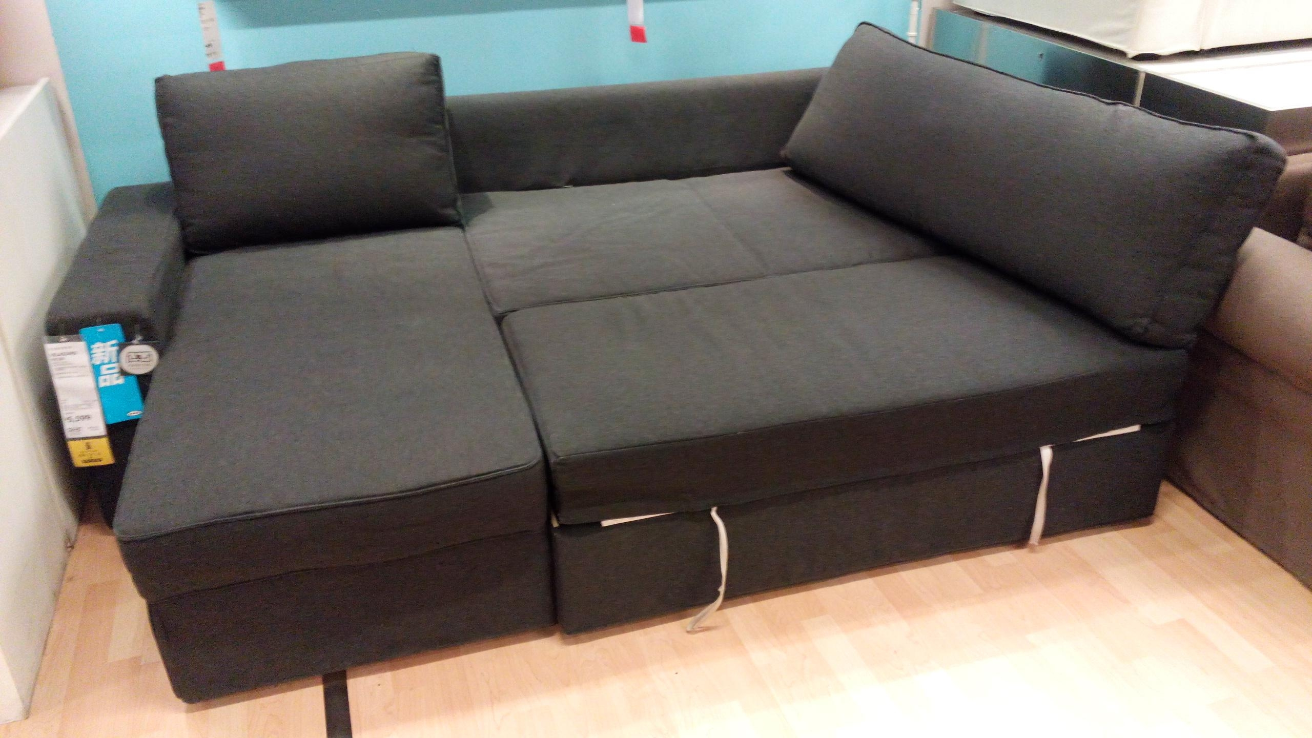 Furniture: Grey Sectional Ikea | Friheten Sofa Bed Review | Ikea Regarding Ikea Sectional Sofa Bed (Image 7 of 20)