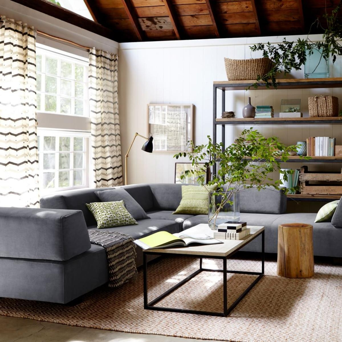 Furniture: Henry Sectional West Elm Reviews | West Elm Sofa Pertaining To West Elm Sectionals (Image 8 of 20)
