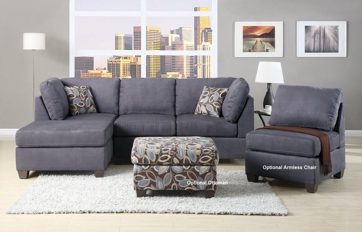 Furniture Home : Appealing Modern Microfiber Sectional Sofas 64 Regarding Modern Microfiber Sectional Sofa (Image 5 of 20)