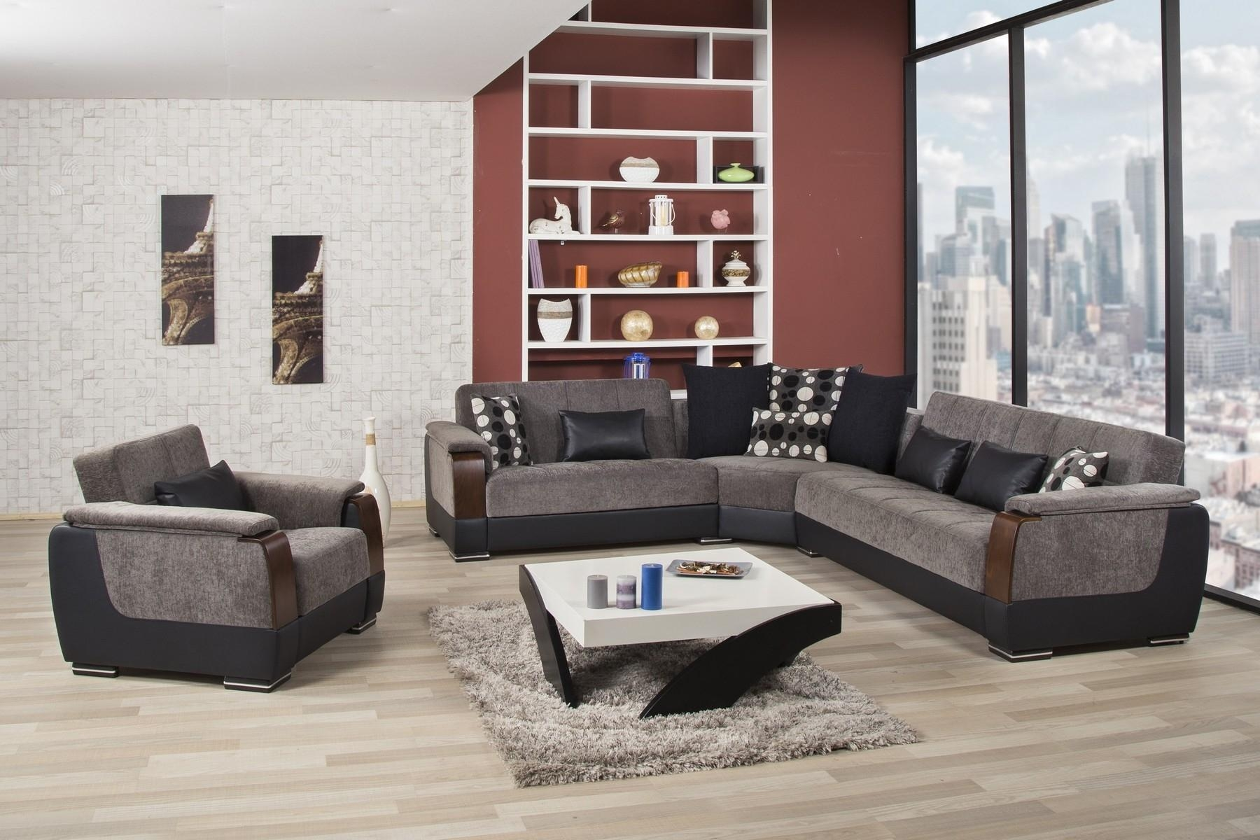 Furniture Home : Cool Modern Microfiber Sectional Sofas 28 For For Modern Microfiber Sectional Sofa (Image 6 of 20)