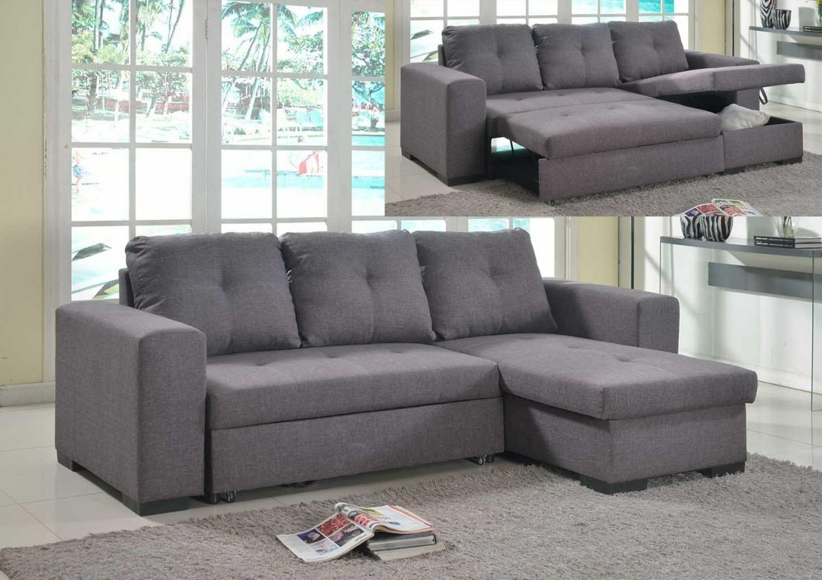 Furniture Home: Mondo Corner Sofa Bed Storage Chaise Bed Open With Regard To Chaise Sofa Beds With Storage (Image 6 of 20)