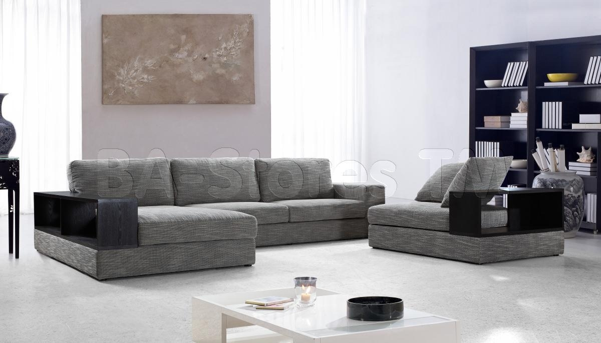 Furniture Home : Sectional Sofa Modern Elegant 2017 Microfiber In Modern Microfiber Sectional Sofa (Image 8 of 20)