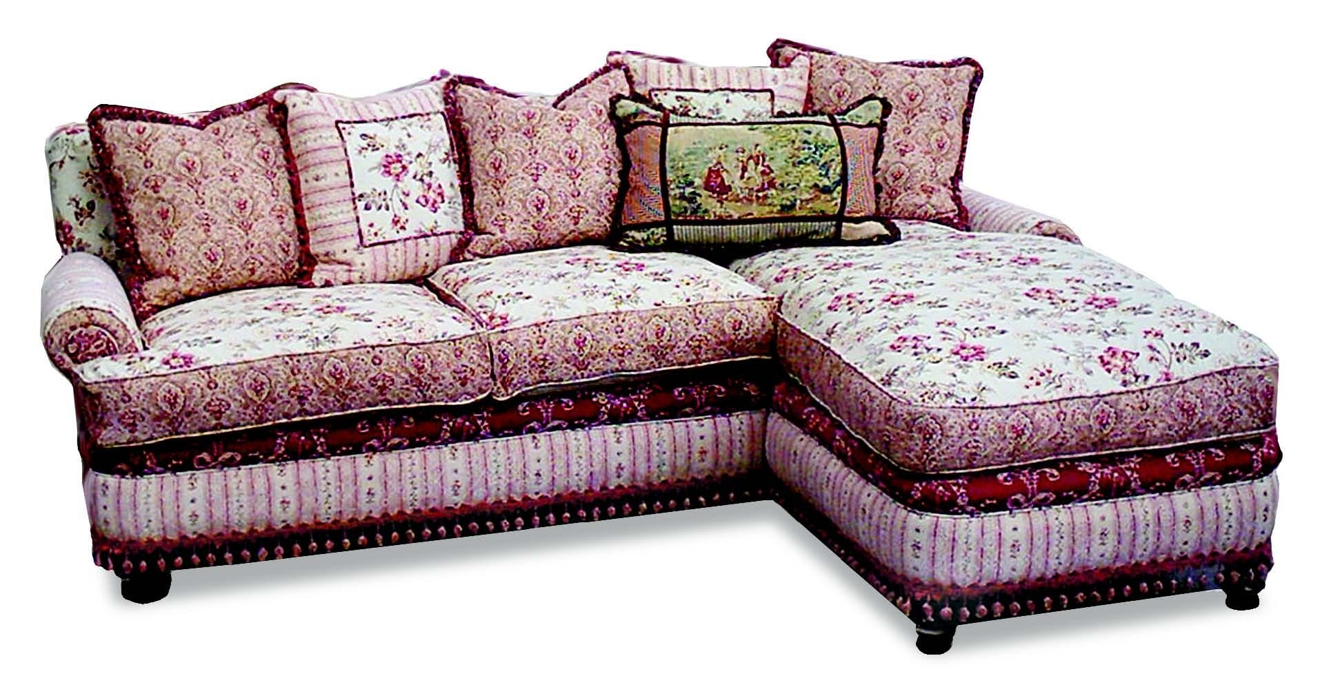 Furniture Home: The Most Popular Shabby Chic Sectional Sofa 60 Within Shabby Chic Sofa (View 13 of 20)