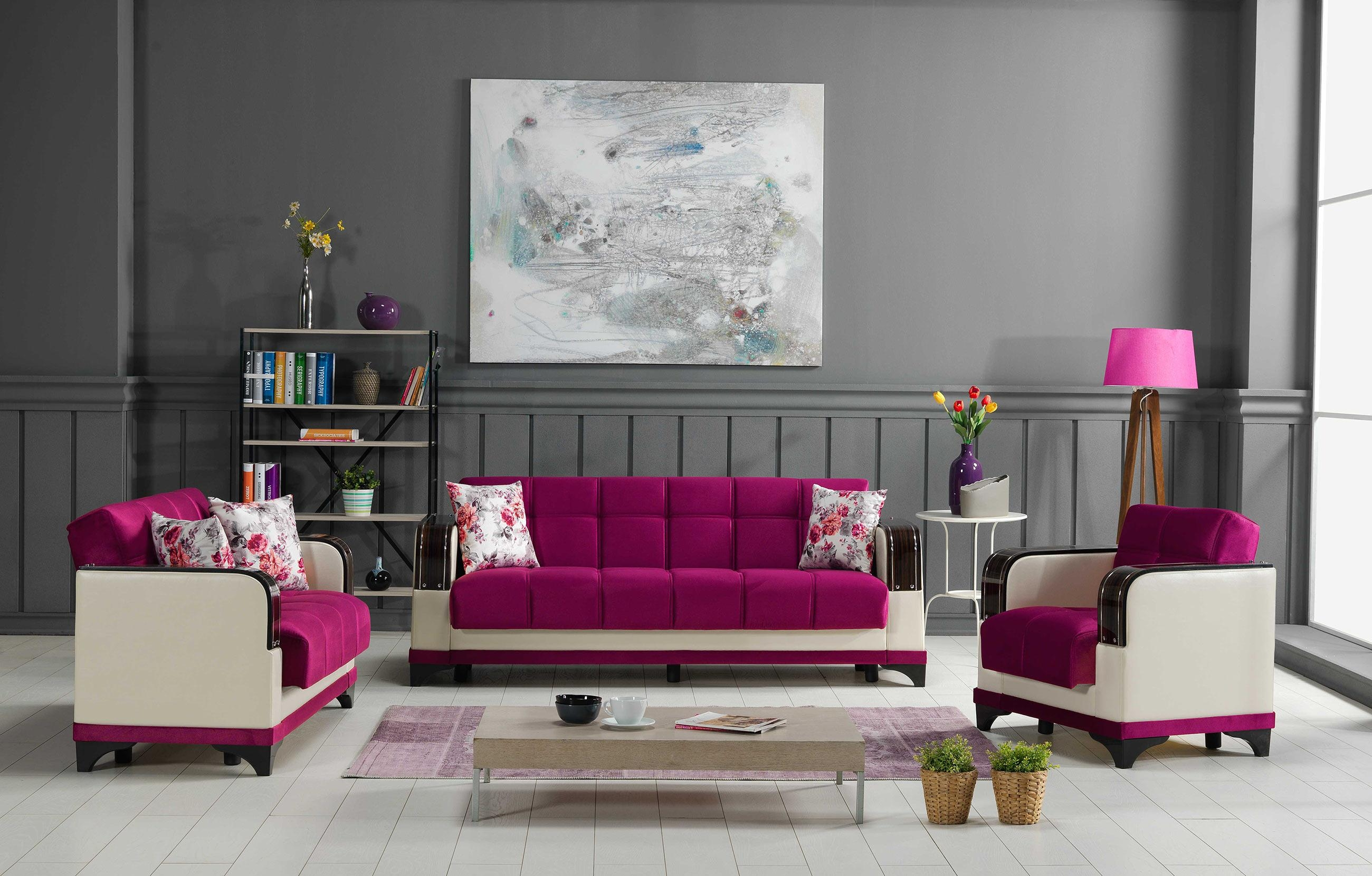 Furniture: How To Decorate Your Endearing Living Room With Inside Gingham Sofas (Image 9 of 20)
